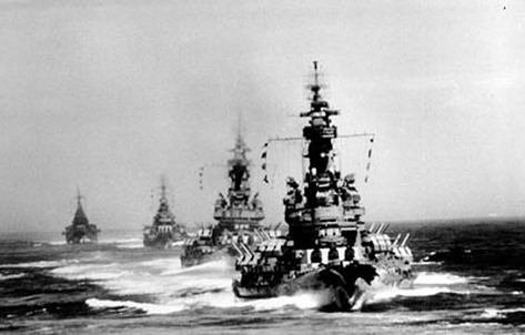 Battles in World War II - North Carolina Battleship